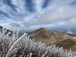 11月23日に会社の仲間6人と久住山に登りました。