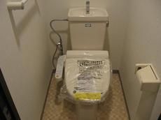 トイレはウォシュレッ